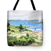 Summer In Lunenburg Harbour Tote Bag