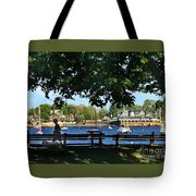 Summer In Marblehead, Ma Tote Bag