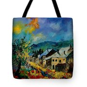Summer In Mogimont Tote Bag