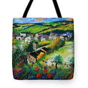 Summer In Rochehaut Tote Bag