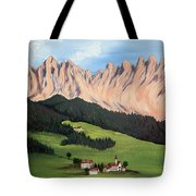 Summer In Switzerland Tote Bag