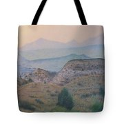 Summer In The Badlands Tote Bag
