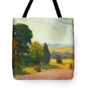 Summer Landscape By John William Beatty Tote Bag