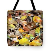 Summer Leaves For Fall Tote Bag