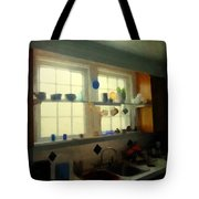 Summer Light In The Kitchen Tote Bag