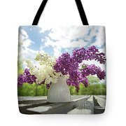 Summer Lilacs Tote Bag