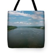 Summer Morning View Over The Hudson Tote Bag