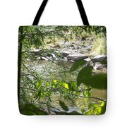 Summer Mountain Creek Tote Bag