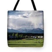 Summer Mountain Paradise Tote Bag