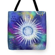 Summer Of Love 2- Art By Linda Woods Tote Bag
