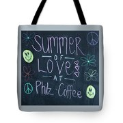 Summer Of Love At Philz Coffee Tote Bag