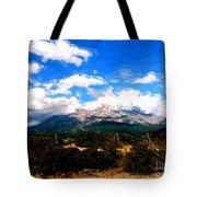 Summer On Mt. Shasta Tote Bag