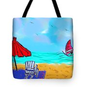 Summer On Nantasket Tote Bag