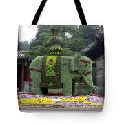 Summer Palace Elephant Tote Bag