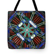 Summer Palace Patterns Tote Bag