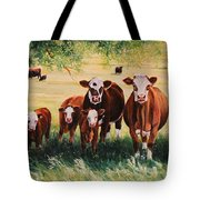 Summer Pastures Tote Bag