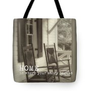 Summer Peace Quote Tote Bag