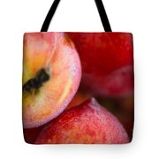 Summer Peaches Tote Bag