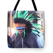 Summer Peacock Impersonation Tote Bag