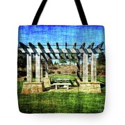 Summer Pergola Rest Spot Tote Bag