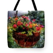 Summer Picture Window Tote Bag