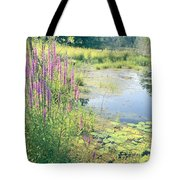 Summer Pond In The Berkshires Tote Bag