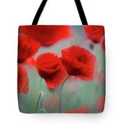 Summer Poppy Meadow 2 Tote Bag
