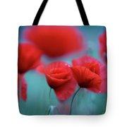 Summer Poppy Meadow 3 Tote Bag