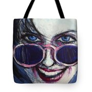 Summer - Portrait Of A Woman Tote Bag