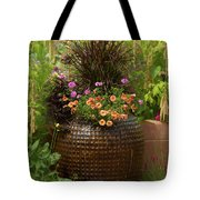 Summer Pot Tote Bag