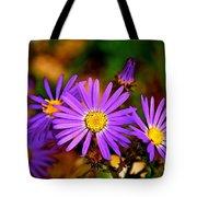 Summer Purple Tote Bag