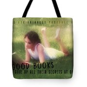 Summer Reading Quote Tote Bag