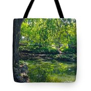 Summer Reflections At Lafayette Park Tote Bag