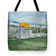 Summer Row Boats Tote Bag