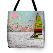 Summer Sailin Tote Bag
