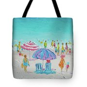 Summer Scene Diptych 1 Tote Bag