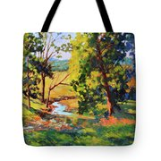 Summer Shadows Tote Bag