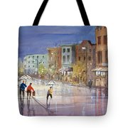 Summer Showers In Green Bay Tote Bag