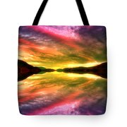 Summer Skies At Skaha Tote Bag