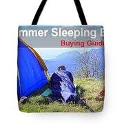 Summer Sleeping Bags Tote Bag
