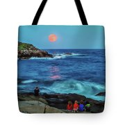 Summer Solstice Strawberry Moon Tote Bag