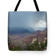 Summer Storm North Rim Grand Canyon National Park Arizona Tote Bag