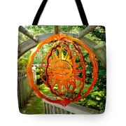 Summer Sun Wind Spinner Tote Bag