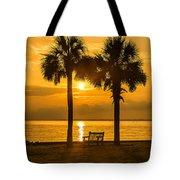 Summer Sunrise - Charleston Sc Tote Bag