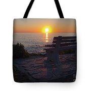 Summer Sunrise, Marginal Way, Ogunquit, Maine  -67904 Tote Bag
