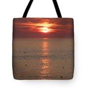Summer Sunrise Rockport, Ma Tote Bag