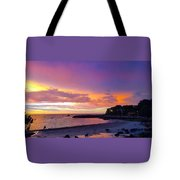Summer Sunset After The Storm Tote Bag