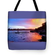 Summer Sunset At Low Tide Tote Bag