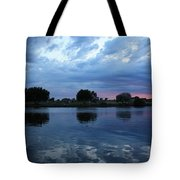Summer Sunset On Yakima River 5 Tote Bag