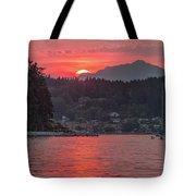 Summer Sunset Over Yukon Harbor.4 Tote Bag